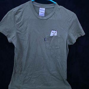RIPNDIP short sleeve shirt